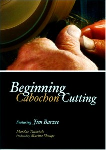 Beginning Cabochon Cutting Tutorial on DVD