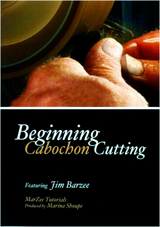 Beginning Cabochon Cutting Tutorial on DVD