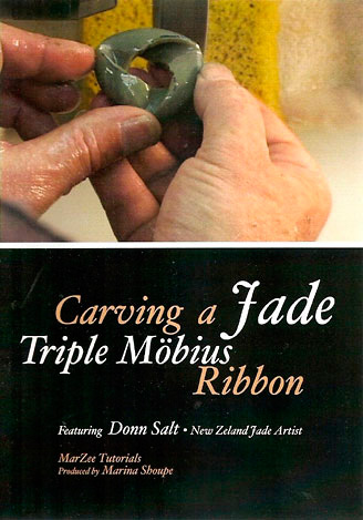 Carving a Jade Triple Mobius Ribbon Tutorial on DVD
